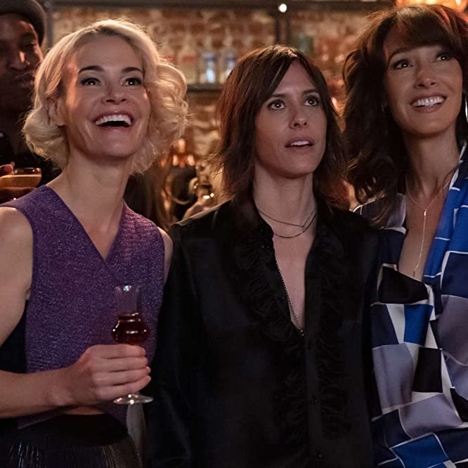 Jennifer Beals, Leisha Hailey, and Katherine Moennig in The L Word: Generation Q: LA Times (2019)