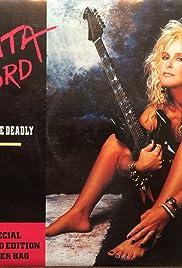 Lita Ford: Kiss Me Deadly Poster