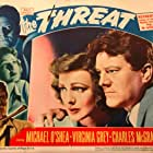 Virginia Grey, Charles McGraw, and Michael O'Shea in The Threat (1949)