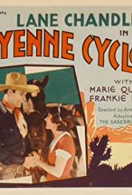 Lane Chandler, Marie Quillan, and Raven the Horse in The Cheyenne Cyclone (1931)