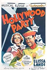 Hollywood Party (1937) Poster - Movie Forum, Cast, Reviews