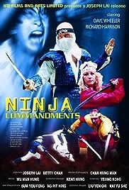 Ninja Commandments Poster