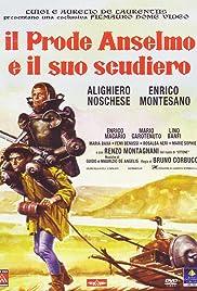 Il prode Anselmo e il suo scudiero Poster