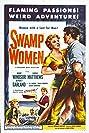 Swamp Women (1956) Poster