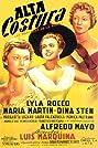 Alta costura (1954) Poster