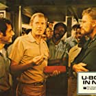 Charlton Heston, Ronny Cox, Dorian Harewood, and Charles Robinson in Gray Lady Down (1978)