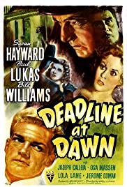 Deadline at Dawn (1946) Poster - Movie Forum, Cast, Reviews