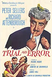 Trial and Error (1962) Poster - Movie Forum, Cast, Reviews