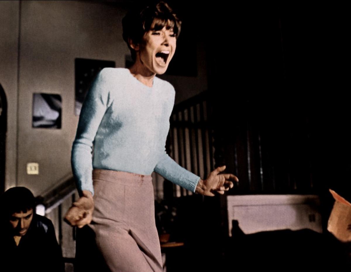 Audrey Hepburn and Alan Arkin in Wait Until Dark (1967)