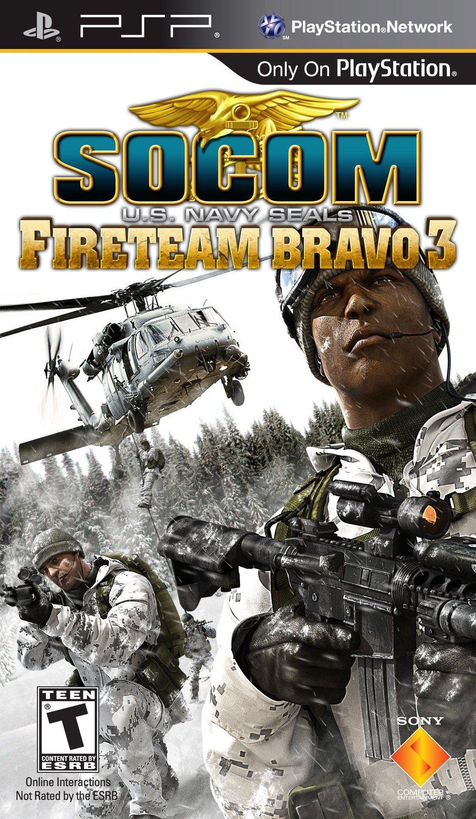 socom us navy seals fireteam bravo 3 psp cso