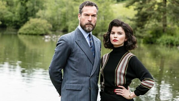 John Light and Gina Bramhill in Father Brown (2013)