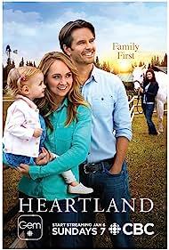 Graham Wardle, Amber Marshall, Alisha Newton, Ruby Spencer, and Emmanuella Spencer in Heartland (2007)