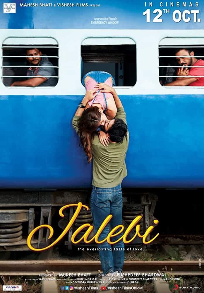 Jalebi (2018) Hindi 720p HEVC HDRip x265 ESubs [500MB] Full Bollywood Movie