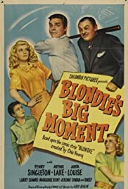 Blondie's Big Moment Poster