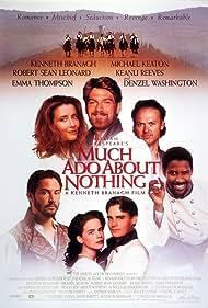 Kenneth Branagh, Keanu Reeves, Denzel Washington, Kate Beckinsale, Michael Keaton, Robert Sean Leonard, and Emma Thompson in Much Ado About Nothing (1993)