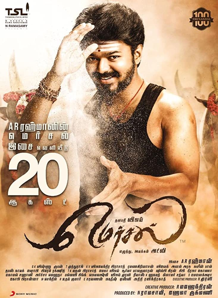 Mersal 2017 (Hindi-Urdu-English] Subtitles 720p HDRip [in Tamil]