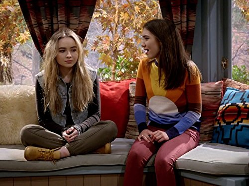Rowan Blanchard and Sabrina Carpenter in Girl Meets World (2014)
