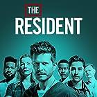 Matt Czuchry, Bruce Greenwood, Emily VanCamp, Malcolm-Jamal Warner, Manish Dayal, and Shaunette Renée Wilson in The Resident (2018)
