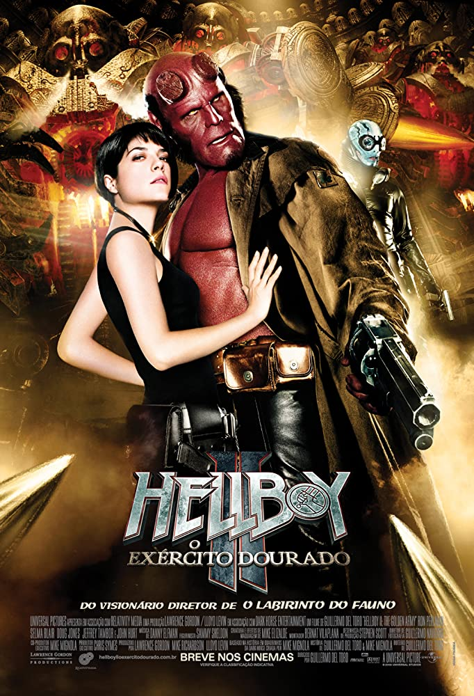 Hellboy II: The Golden Army (2008) Hindi Dubbed