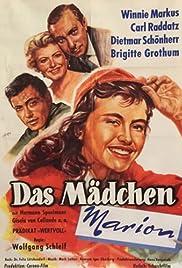 Das Mädchen Marion Poster