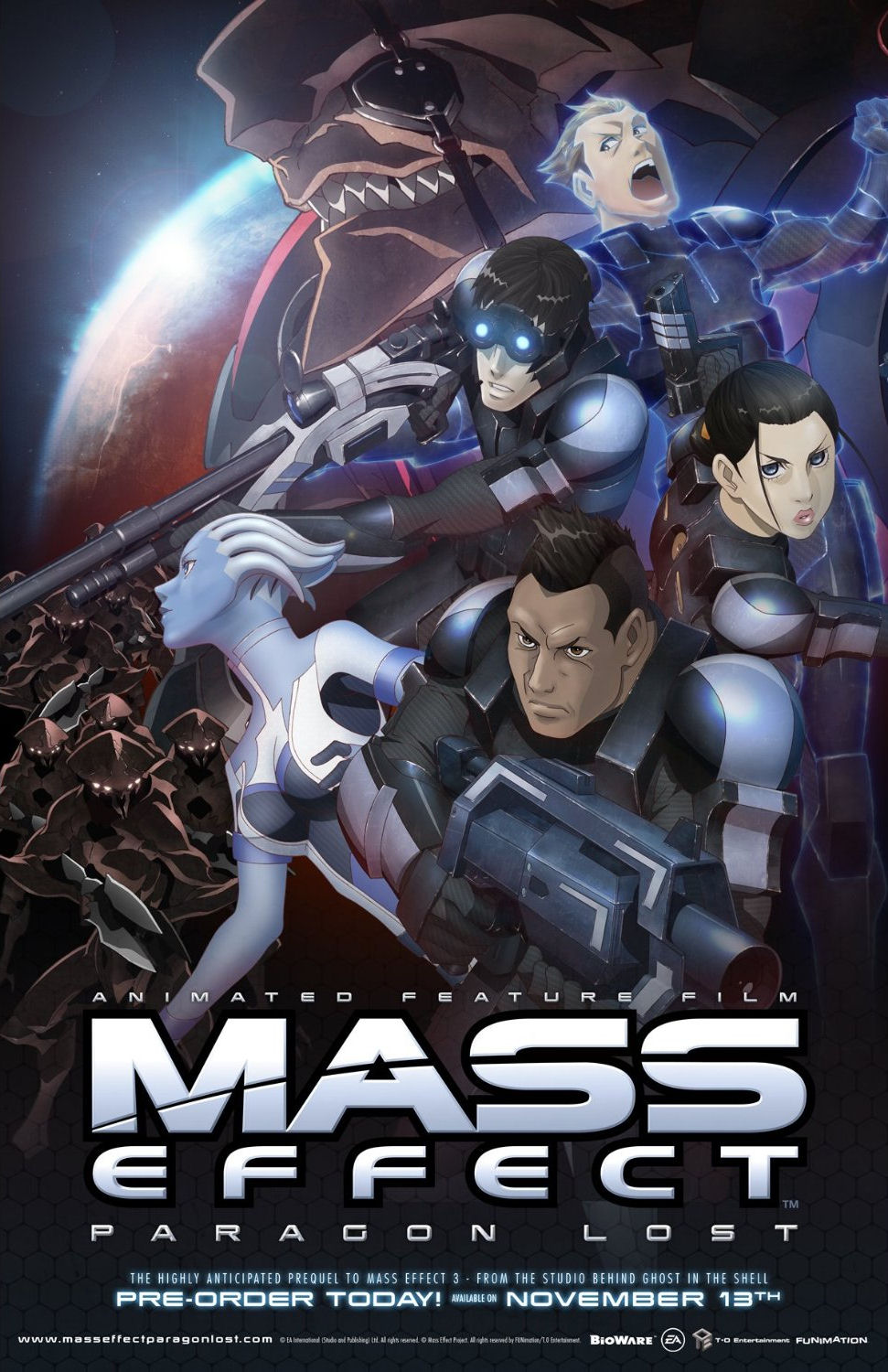 Mass Effect Paragon Lost Video 2012 Imdb