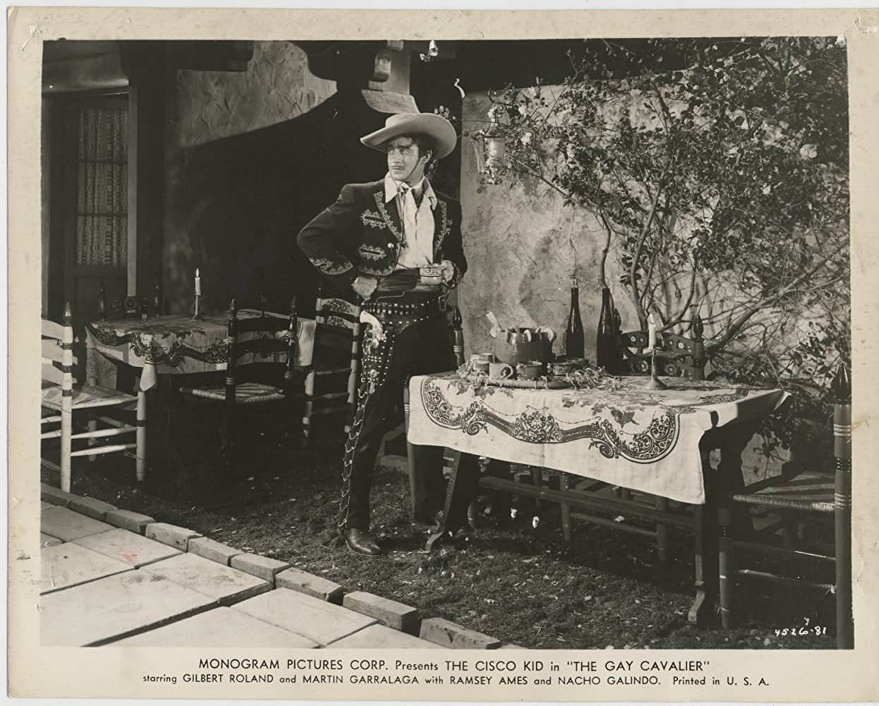 Gilbert Roland in The Gay Cavalier (1946)