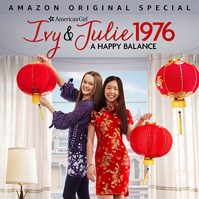 Hannah Nordberg and Nina Lu in An American Girl Story: Ivy & Julie 1976 - A Happy Balance (2017)