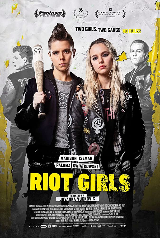 Riot Girls 2019 English 720p HDRip 800MB ESubs