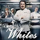 Darren Boyd, Alan Davies, Katherine Parkinson, Amit Shah, and Isy Suttie in Whites (2010)