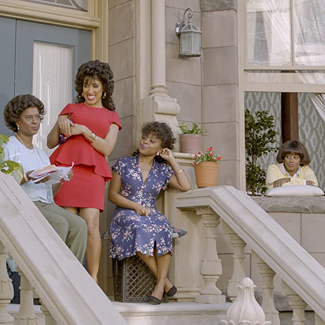 Daniele Gaither, Robin Thede, Holly Walker, and Quinta Brunson in A Black Lady Sketch Show (2019)