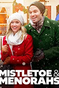 Jake Epstein and Kelley Jakle in A Merry Holiday (2019)