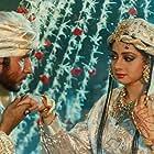 Amitabh Bachchan and Sridevi in Khuda Gawah (1992)