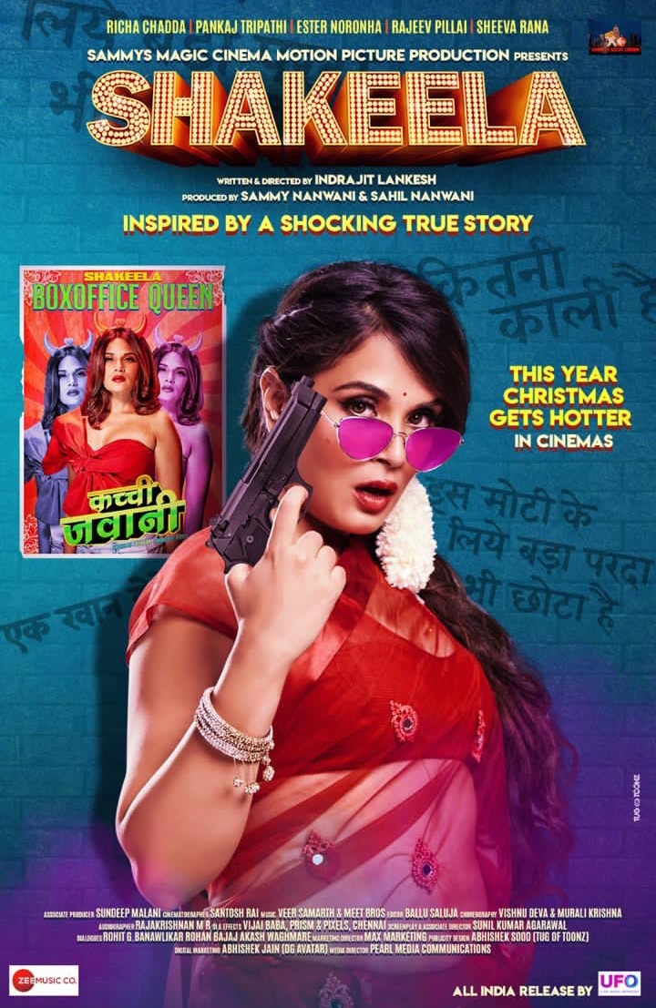 SHAKEELA (2020) Hindi Movie 720p HDRip ESubs 1.1GB
