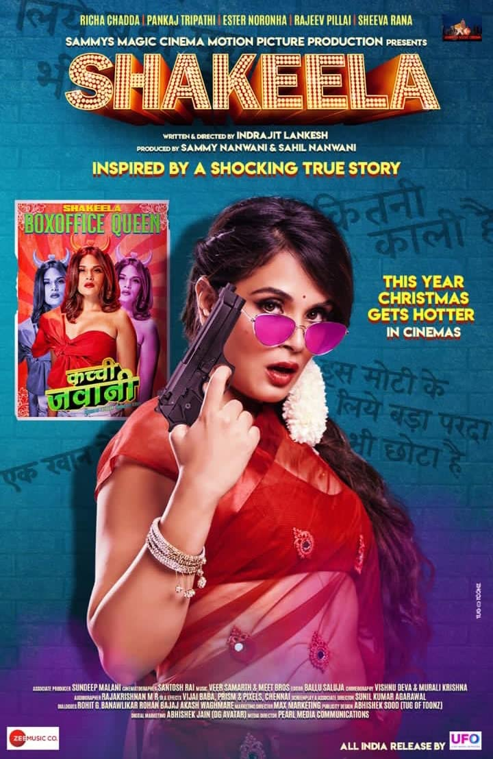 Shakeela 2020 Hindi 720p HDRip x264 AAC 1GB
