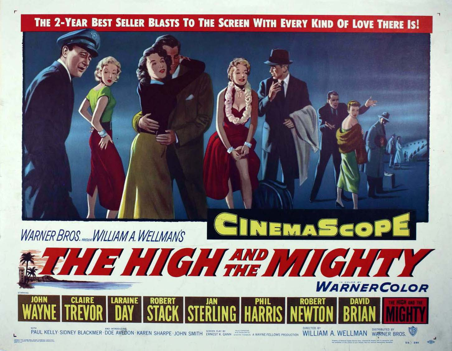 Resultado de imagem para movie poster The High And The Mighty