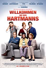 Senta Berger, Heiner Lauterbach, Elyas M'Barek, Florian David Fitz, Palina Rojinski, and Eric Kabongo in Willkommen bei den Hartmanns (2016)