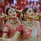 Madhuri Dixit and Aishwarya Rai Bachchan in Devdas (2002)
