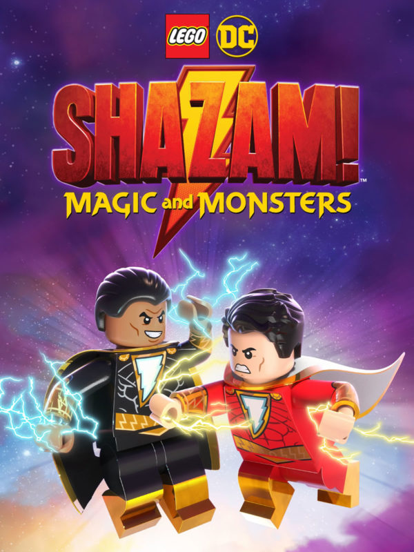 LEGO DC: SHAZAM - MAGIJA IR MONSTRAI (2020) / LEGO DC: SHAZAM - MAGIC & MONSTERS