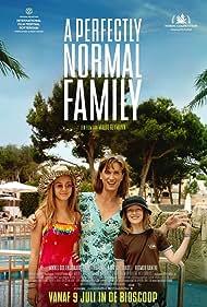 Rigmor Ranthe, Mikkel Boe Følsgaard, and Kaya Toft Loholt in En helt almindelig familie (2020)
