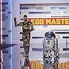 See-Threepio (C-3PO) and Artoo-Detoo (R2-D2) guest host on Lego Masters on FOX, season 1, episode 9..