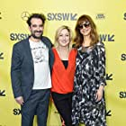 Edie Falco, Jay Duplass, and Lynn Shelton at an event for Outside In (2017)