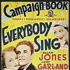 Judy Garland, Fanny Brice, Lynne Carver, and Allan Jones in Everybody Sing (1938)