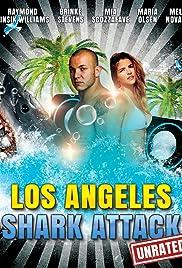 Los Angeles Shark Attack Poster