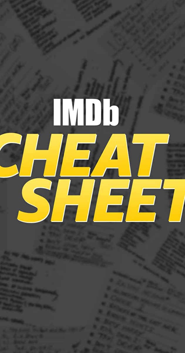 Download IMDb Cheat Sheet or watch streaming online complete episodes of  Season1 in HD 720p 1080p using torrent