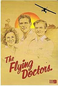 Liz Burch, Lewis Fitz-Gerald, and Andrew McFarlane in The Flying Doctors (1986)