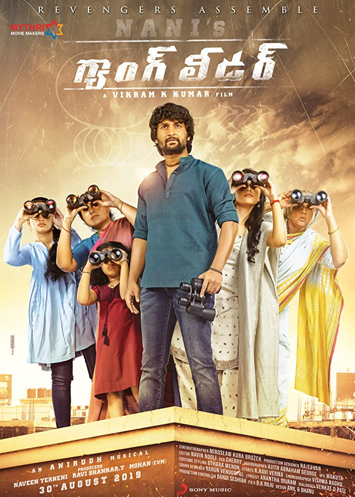 Nani's Gang Leader 2019 Telugu Movie 720p DVDScr 1.4GB x264