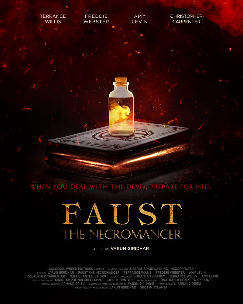 Faust the Necromancer 2020 English 720p HDRip 795MB ESubs Download