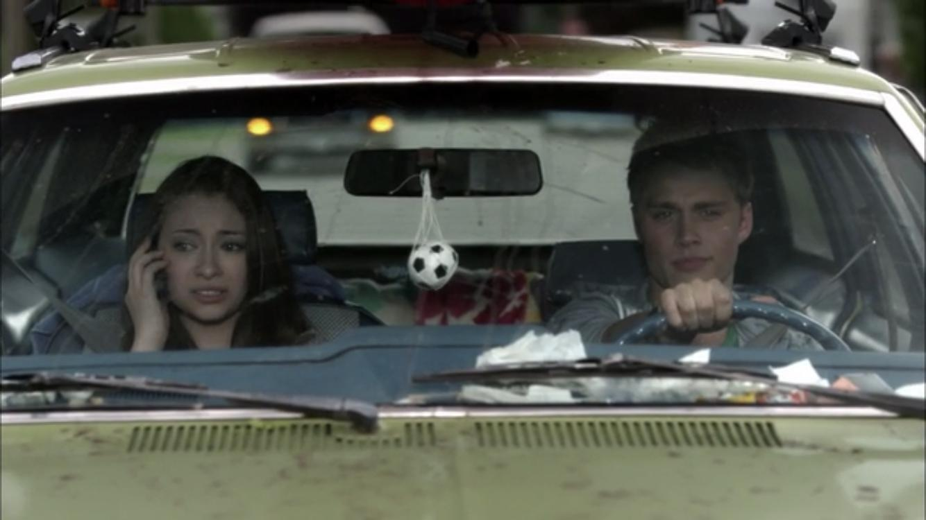Jodelle Ferland and Max Lloyd-Jones in Girl Fight (2011)