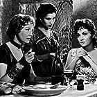Arletty, Leila Farida, and Gina Lollobrigida in Le grand jeu (1954)