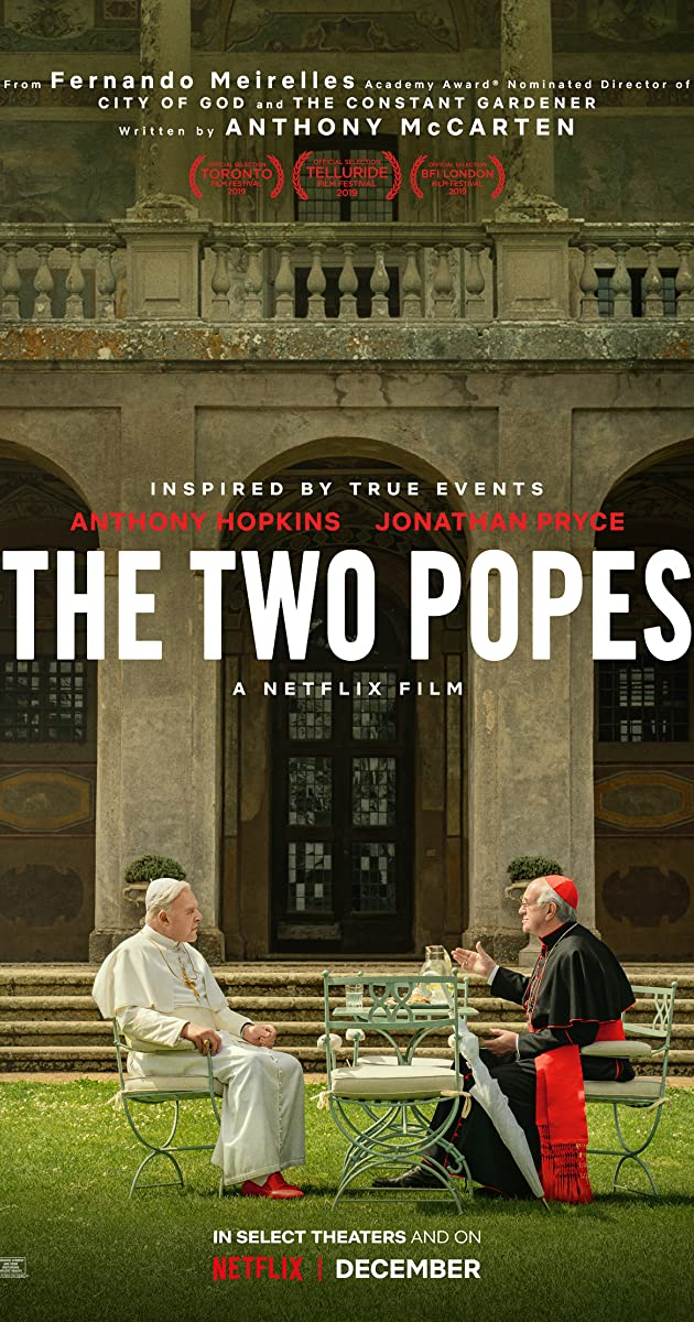 Watch Full HD Movie The Two Popes (2019)